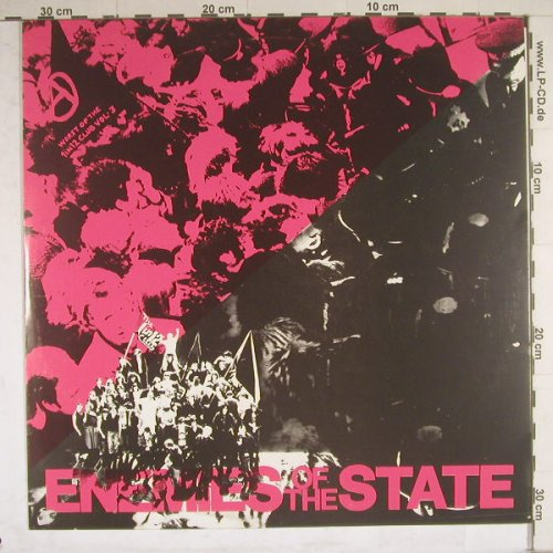 V.A.Enemies Of The State: 15 Tr., 1 In 12 Cl(Vol.3), UK,  - LP - B4608 - 20,00 Euro