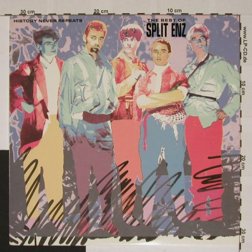 Split Enz: History Never Repeats-Best Of,Co, AM(), US,  - LP - B5288 - 6,00 Euro