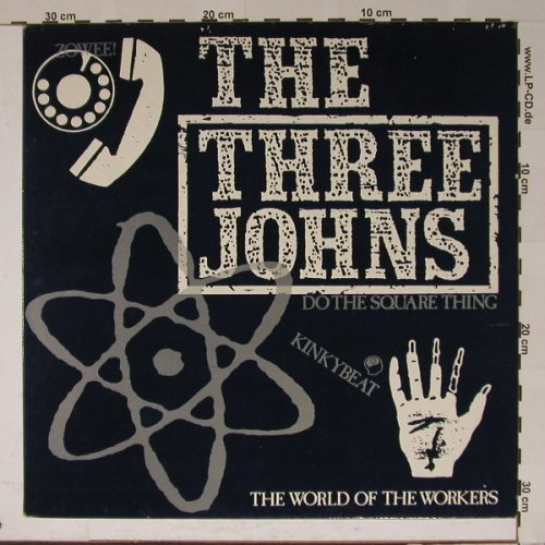 Three Johns: Do the Square Thing, Abstract(12 ABS023), UK, 84 - 12inch - B5634 - 5,00 Euro