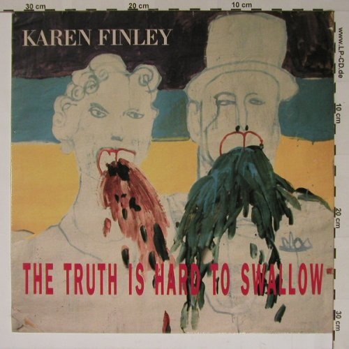 Finley,Karen: The Truth is Hard to Swallow, D-Day(2088), D,  - LP - B5964 - 2,50 Euro