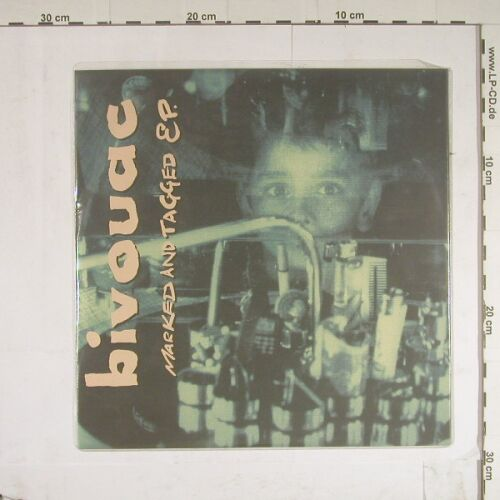 Bivouac: Marked And Tagged EP, 3 Tr., El-e-menta(ELM 20), UK, 1994 - 10inch - B668 - 5,00 Euro