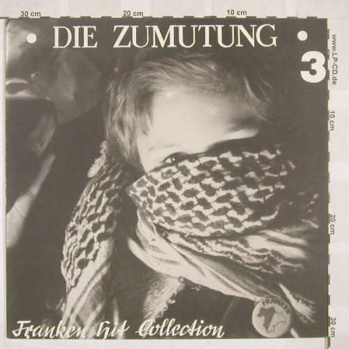 V.A.Die Zumutung 3: Franken Hit Collection, 14 Tr., RedRossett(RRP 021), D,  - LP - B6862 - 15,00 Euro
