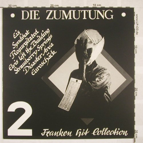 V.A.Die Zumutung 2: Franken Hit Collection, 14 Tr., RedRossett(RRP 020), D,  - LP - B6863 - 15,00 Euro