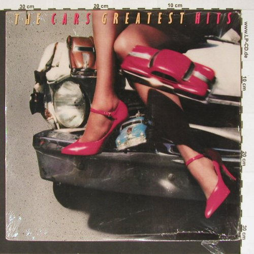 Cars: Greatest Hits, co, FS-New, Elektra(9 60464.1), US, 85 - LP - B6928 - 7,50 Euro
