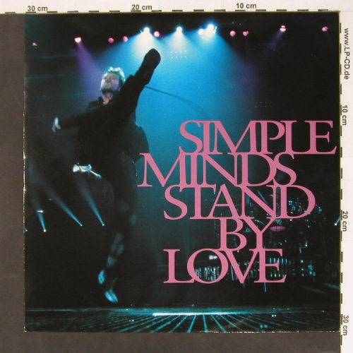 Simple Minds: Stand by Love+2, Virgin(VST1358), D, 91 - 12inch - B8503 - 5,00 Euro