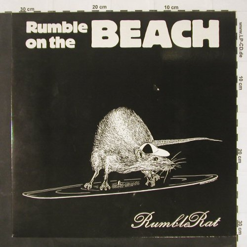 Rumble On The Beach: Rumble Rat, Weser(02414 EFA), D, 87 - LP - C2324 - 12,50 Euro
