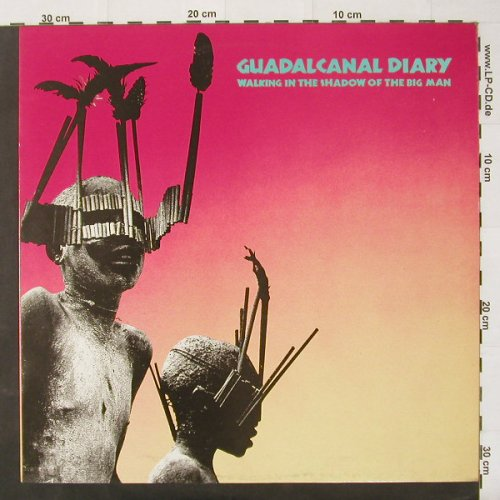 Guadalcanal Diary: Walking In The Shadow Of The BigMan, Hybrid(HYB LP 2), UK, 85 - LP - C2460 - 5,00 Euro