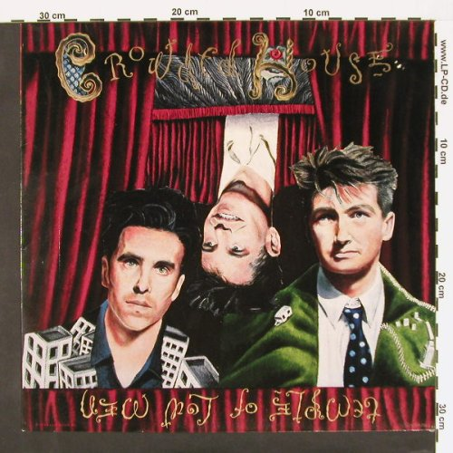 Crowded House: Temple Of Low Men, Capitol(7 48763 1), NL, 88 - LP - C368 - 5,50 Euro