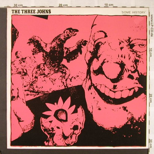 Three Johns: Some History, 4 Tr., Abstract(12ABS 022), F, 1983 - 12inch - C5197 - 3,00 Euro