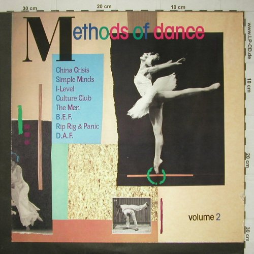 V.A.Methods Of Dance Vol.2: 8 Tr., m-/vg+, Virgin(205 138-250), D, 1982 - LP - C5592 - 3,00 Euro