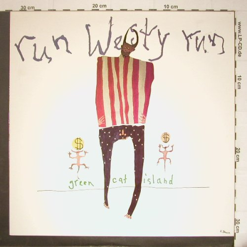 Run Westy Run: Green Cat Island, Twin Tone(ttr 89/99-1), , 1990 - LP - C5772 - 5,00 Euro