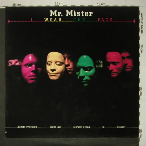 Mr.Mister: I Wear The Face, RCA(PL84864), D, 1984 - LP - C5964 - 4,00 Euro