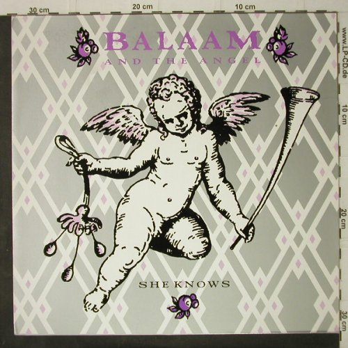 Balaam and the Angels: She Knows+3, Virgin(608 101-213), D, 1986 - 12inch - C7893 - 3,00 Euro