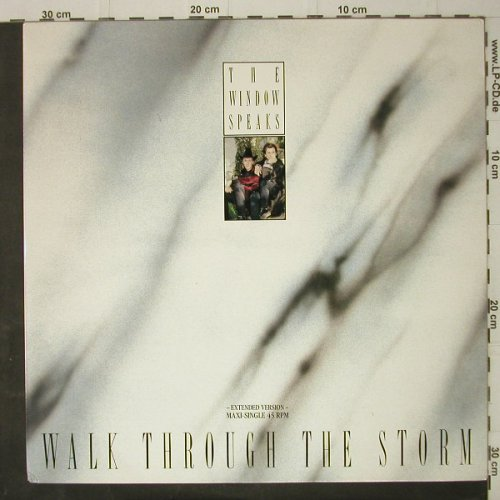 Window Speaks,The: Walk Through The Storm*2+1, m-/vg+, CBS(651067 6), NL, 1987 - 12inch - C7909 - 3,00 Euro