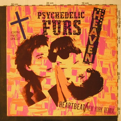 Psychedelic Furs: Heartbeat *2 (New York Remix), CBS(A12.4300), NL, 1984 - 12inch - C7919 - 3,00 Euro