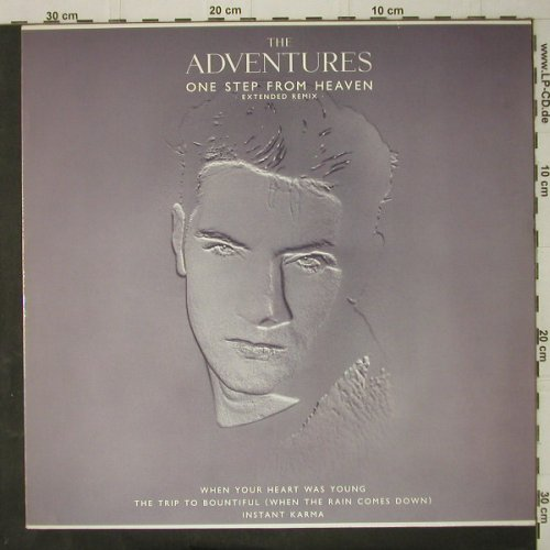 Adventures: One Step From Heaven-Ex.Rem.+3, Elektra(966 730-0), D, 1988 - 12inch - C7942 - 3,00 Euro