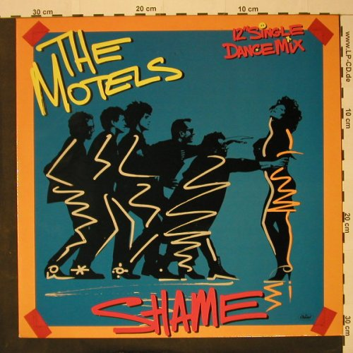 Motels: Shame *2 dance mix/Shame, Facts, Capitol(K060-20 0745 6), EEC, 1985 - 12inch - C8298 - 3,00 Euro