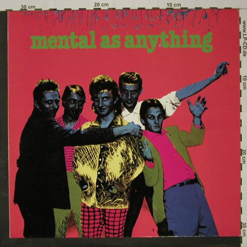 Mental As Anything: Get Wet, Virgin(201 435-320), D, 1980 - LP - C8446 - 5,00 Euro
