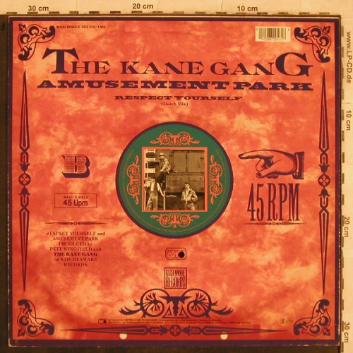 Kane Gang: Respect Yourself*2+1, Metronome(882 016-1 ME), D, 1984 - 12inch - C8477 - 2,00 Euro