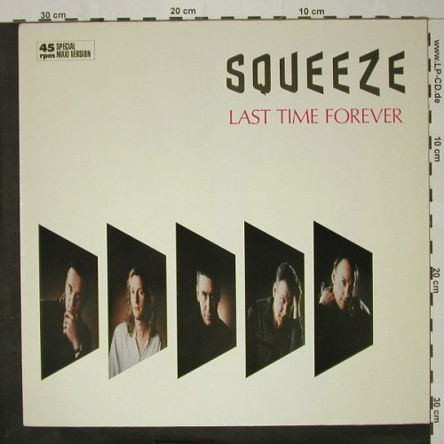 Squeeze: Last Time Forever+1, m-/vg+, AM(392 021-1), D, 1985 - 12inch - C8567 - 1,00 Euro