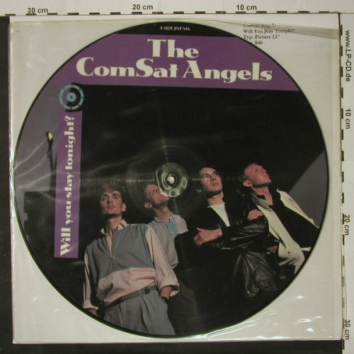 "Comsat Angels: Will You Stay Tonight? +2,picture, Jive(S46), UK, 1983 - P12"" - C8658 - 6,00 Euro"