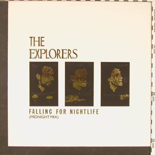 Explorers: Falling For Nightlife+1, Virgin(301 603), D, 1984 - 12inch - C8783 - 2,00 Euro