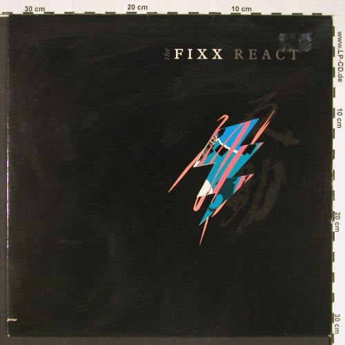 Fixx: The React, m-/vg+, co, MCA(254 784-1), D, 1987 - LP - C8814 - 4,00 Euro