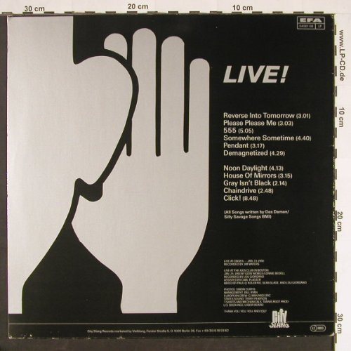 Das Damen: Entertaining Friends-Live, City Slang(04061-08 EFA), , 1990 - LP - C9406 - 6,50 Euro