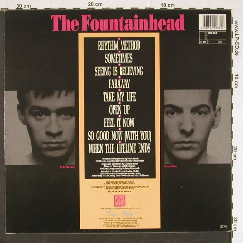 Fountainhead: The Burning Touch, China(207 864), D, 1986 - LP - C9427 - 5,00 Euro