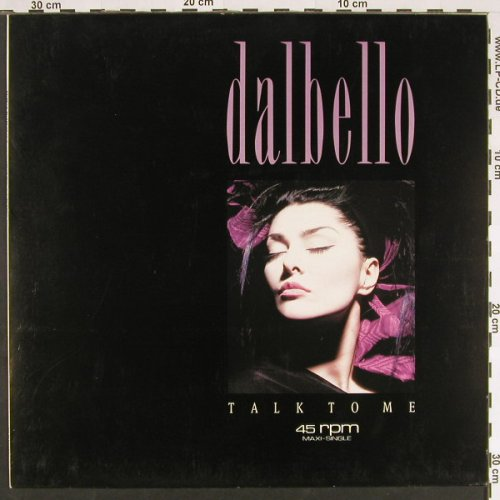 "Dalbello: Talk To Me(7""+re)/Imagination, Capitol(20 2330 6), EEC, 1987 - 12inch - C9506 - 3,00 Euro"