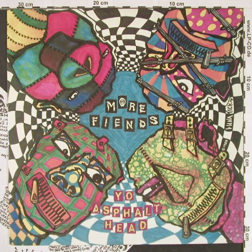 More Fiends: Yo Asphalt Head, Rave Record(rave003), CDN, 1988 - LP - C9602 - 5,00 Euro