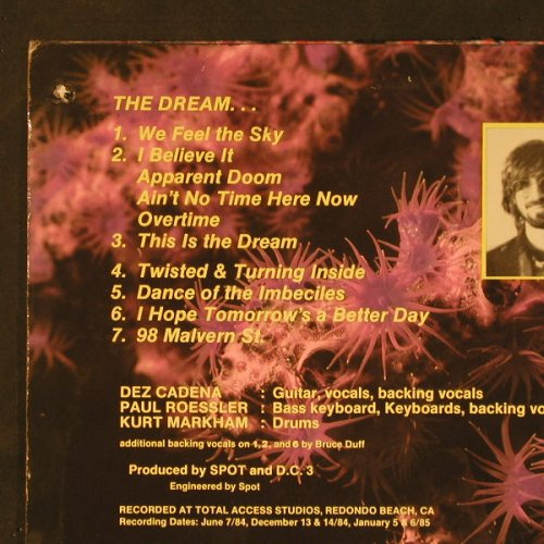 DC 3: This Is The Dream, m-/vg+, SST(033), CDN, 1985 - LP - C9605 - 5,00 Euro