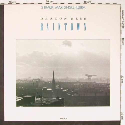 Deacon Blue: Raintown/Loaded/+1, CBS(651136 6), NL, 1987 - 12inch - E1128 - 2,50 Euro