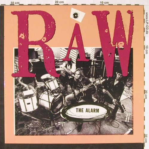 Alarm: Raw, IRS(713087 1), EEC, 1991 - LP - E1401 - 4,00 Euro
