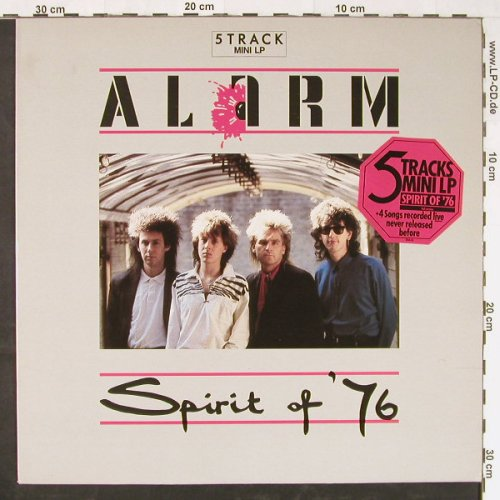 Alarm: Spirit Of'76, 5 Tr., IRS(26845), NL, 1985 - LP - E1549 - 2,50 Euro