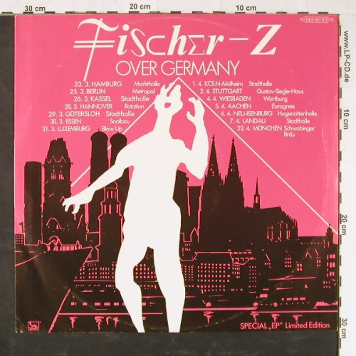 Fischer-Z: Over Germany, 4 Tr., Liberty(062-83 101), D, 1979 - 12inch - E1560 - 5,00 Euro