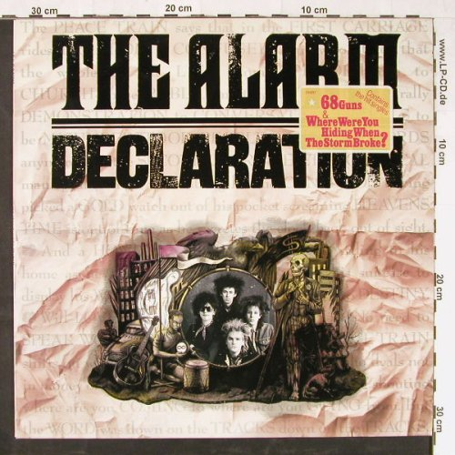 Alarm: Declaration, IRS(25887), NL, 1984 - LP - E1573 - 3,00 Euro
