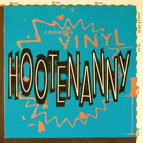 V.A.Hootenanny: Cooking Vinyl Sampled, CookVinyl(GRILL 003), UK, 1990 - LP - E1624 - 6,00 Euro