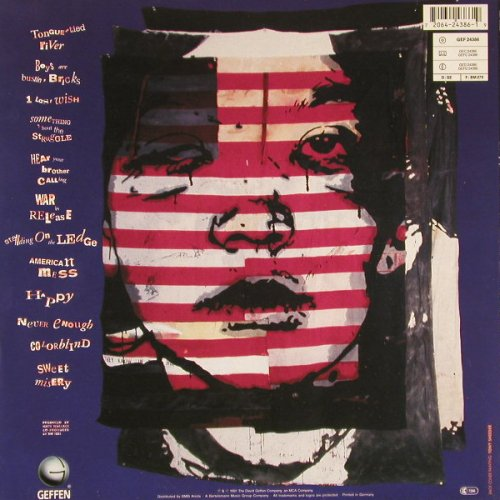 Toll,The: Sticks & Stones And Broken, Geffen(GEF 24386), D, 1991 - LP - E176 - 5,00 Euro