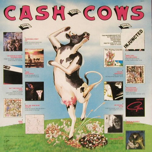 V.A.Cash Cows: XTC..PIL, 13 Tr., Virgin(MILK-1), D, 1980 - LP - E2033 - 5,00 Euro