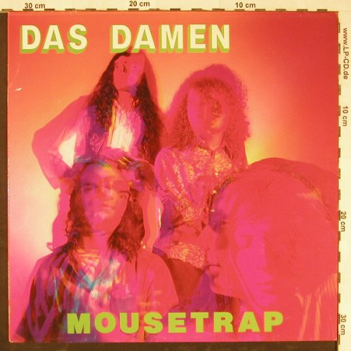Das Damen: Mousetrap, What Goes On Rec.(Goes On 34), UK, 1989 - LP - E2049 - 5,00 Euro