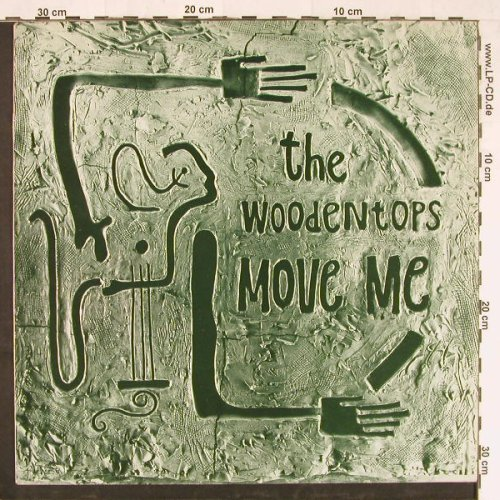 Woodentops: Move Me +2, RoughTrade(RTT165), D, 1985 - 12inch - E2235 - 3,00 Euro