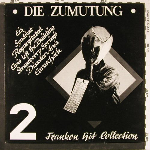 V.A.Die Zumutung: 2 Franken Hit Collection, No.342, Red Rosetten Rec.(RRP020), D,  - LP - E2563 - 9,00 Euro