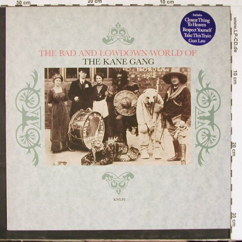 Kane Gang: The Bad And Lowdown World Of, Kitchenware(KWLP2), US, 1985 - LP - E2602 - 5,00 Euro