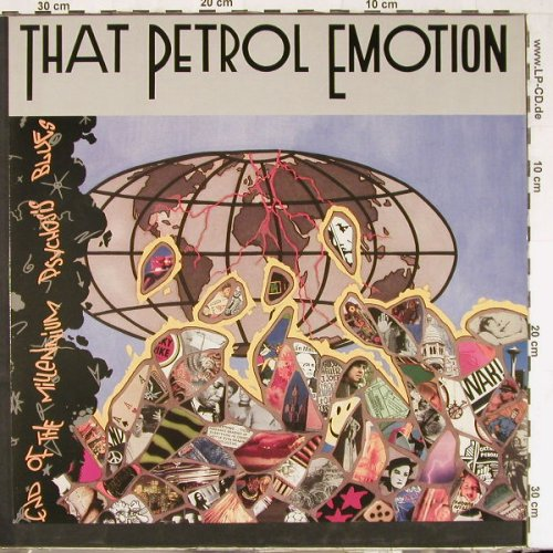 That Petrol Emotion: End Of The Millenium PsychosisBlues, Virgin(209 390-630), D, 1988 - LP - E2684 - 5,00 Euro