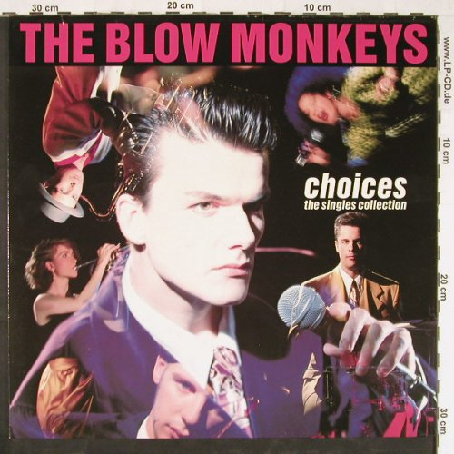 Blow Monkeys: Choices-The Singles Collection, RCA(PL 74191), D, 1989 - LP - E2756 - 5,00 Euro