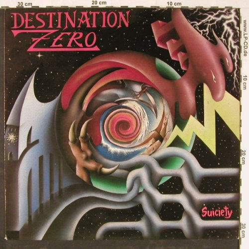 Destination Zero: Suiciety, Bitzcore(01654-08), D, 1988 - LP - E3220 - 5,00 Euro