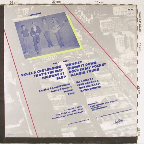 Turbines: Last Dance Before Highway, Big Time(BTA-007), NL, 1985 - LP - E3228 - 6,00 Euro