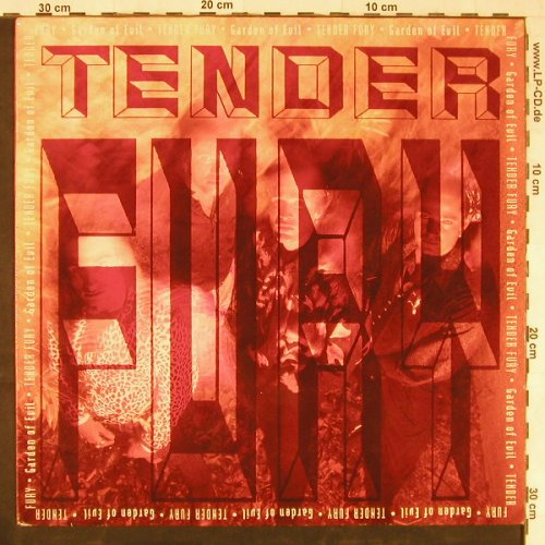 Tender Fury: Garden Of Evil, Emergo(EM 9412 1), NL, 1990 - LP - E3276 - 5,00 Euro