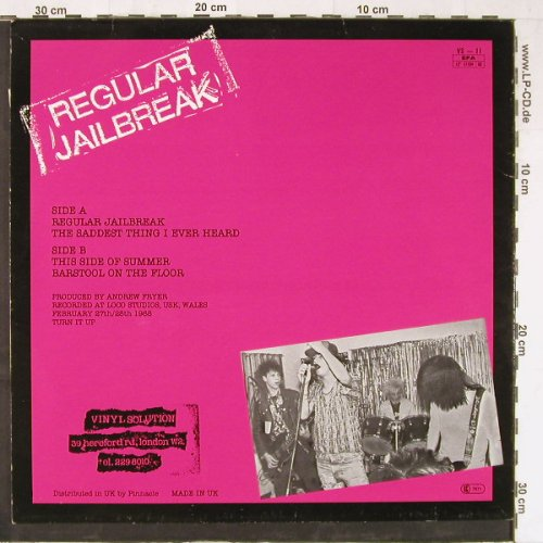 Perfect Daze: Regular Jailbreak+3, Vinyl Solution(VS-11), UK, 1988 - 12inch - E3463 - 5,00 Euro